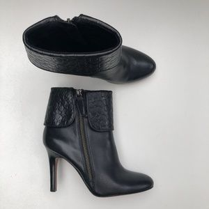 Coach Mackenna Leather Boots